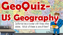USA Geography GeoQuiz Map Game