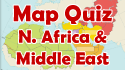 Middle East & North Africa Map Quiz
