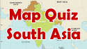 South Asia Map Quiz