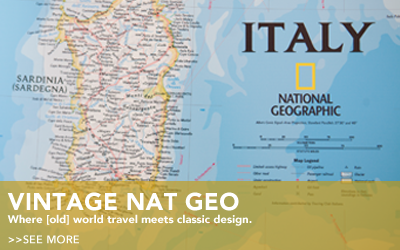 Vintage National Geographic Collection