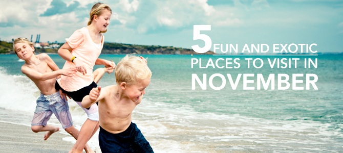 5 Fun Places to Visit in November